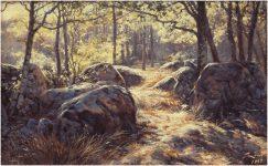 Oaks painting